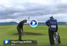 Un golpe de Jiménez, entre los 10 mejores de la historia del Open de Escocia. Puro links (VÍDEO)