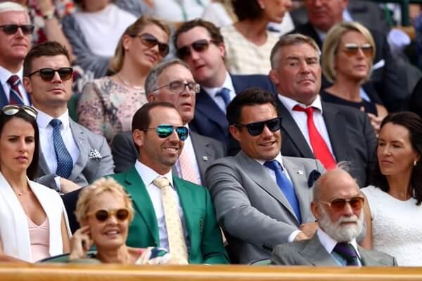 García fue talismán para Nadal y Bautista. Sergio acudió a Wimbledon vistiendo la Chaqueta Verde