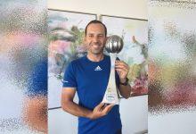 Sergio García recibe el prestigioso ESPY Award al Mejor Golfista del Año a dos días de su boda