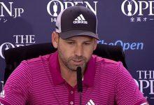 Sergio García: «The Open es mi Major favorito, me encantaría ganar uno antes de colgar las botas»