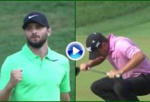 Cara y cruz en el green: El tenso putt de Stanley que vale 1.278.000$; el de Howell lamió el hoyo (VÍDEO)