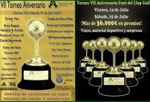 Font del Llop tira otra vez la casa por la ventana en su aniversario ¡reparte más de 36.000€ en premios!