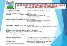 Disfrute del Torneo Verano en Altea CG (12-A) a un precio irresistible y su 'Happy Hour' de sábados