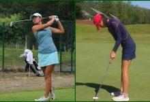 La rookies españolas Natasha Fear y Jeni Ji, en lo alto del V Ribeira Sacra Ladies Open de Lugo