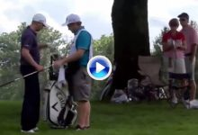 ¡Air ball! Berger golpeó al aire en el Bridgestone ante la atónita mirada de los espectadores (VÍDEO)