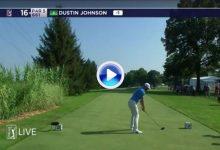 ¡¡Booooommm!! DJ lanza un misil de ¡439 yardas! el drive más largo en el PGA Tour desde 2013 (VÍDEO)
