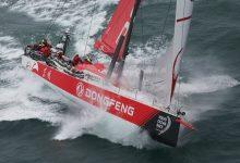 El Dongfeng lidera la flota de la Volvo Ocean Race tras un espectacular inicio de la Rolex Fastnet Race