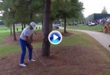 Day firma un cuádruplebogey en el 18. Así fue la odisea del aussie en el último hoyo del PGA (VÍDEO)