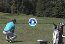 """Rahm sorprende al PGA entrenando su Flop Shot al estilo Seve. """"What is this?"""", se preguntan (VÍDEO)"""