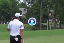Parecía un putt perfecto de Jon desde 17m. pero… la bola le hizo 'la cobra' en la última vuelta (VÍDEO)