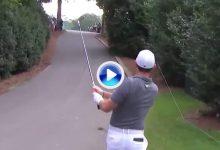 Esta recuperación de Rory, jugando con el asfalto, ya opta a ser una de las mejores del año (VÍDEO)