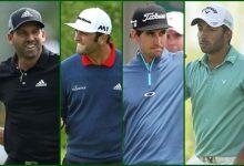 García, Rahm, Cabrera-Bello y Larrazábal, a la caza del último Grande del año, el US PGA Championship