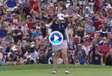 Reviva los mejores momentos de los individuales del último día de la Solheim en solo 3' (VÍDEO)