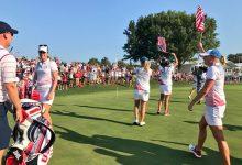 Estados Unidos acaricia de nuevo la Solheim Cup (10 ½ a 5 ½) tras otro gran día en los fourballs