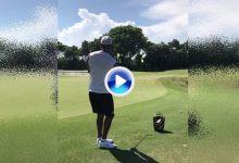¡Qué bueno que estés de vuelta! Tiger recibe el sí del doctor para entrenar su juego corto (VÍDEO)