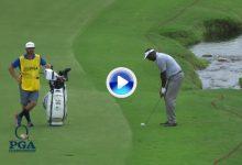 Estos fueron los 5 mejores golpes del US PGA en su 2ª jornada. Vijay encabeza el resumen (VÍDEO)
