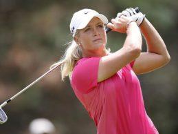 Suzann Pettersen, estrella mundial del golf, pone la guinda al Andalucía Costa del Sol Open de España