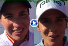 Azahara y Carlota coinciden: «Es la final soñada en este Andalucía Open de España» (Declaraciones)