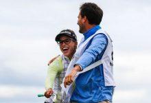Vueltón y liderato para Belén Mozo en el New Zealand Women's Open con Hoyo en Uno incluido