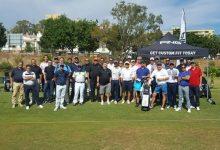 Jiménez, orgulloso abanderado de PING en el Company Day organizado en su Academia de Golf