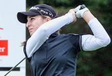 Luna Sobrón, excelente inicio de US Women's Open para colocarse en el Top 7 tras una apacible jornada