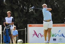 Fantástico arranque de Natalia Escuriola en el Andalucía Open de España. Lidera la prueba con -7