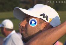 Conozca cuál es la rutina de Sergio García, 8º del mundo, antes de jugar una ronda de golf (VÍDEO)