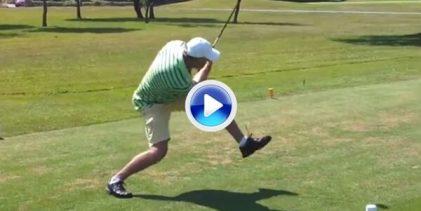 Lo importante no es el swing, sino donde acaba la bola. Eso deben de pensar estos jugadores (VÍDEO)