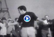 Así fue el primer Hoyo en Uno visto en la Televisión británica en directo. Su autor Tony Jacklin (VÍDEO)