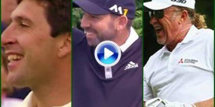 Tres Hoyos en Uno de Sergio, Olazábal y Jiménez, entre los 10 mejores de la historia del Tour (VÍDEO)