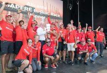 El MAPFRE suma sus primeros puntos en la Volvo Ocean Race tras imponerse en la In Port Race