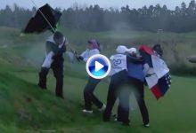 Dantescas imágenes con Mozo de protagonista. El viento causa el caos en Nueva Zelanda (VÍDEO)