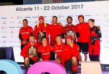 El MAPFRE, ganador de la etapa Prólogo de la Volvo Ocean Race, ya está en Alicante