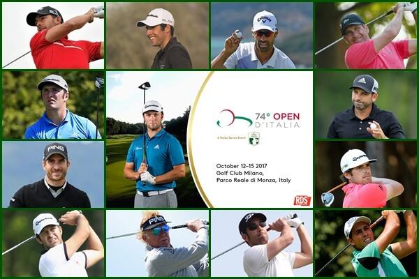 Españoles en el Italian Open y el cartel del evento con Jon Rahm como protagonista