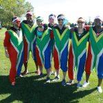 Fans sudafricanos