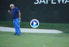 Un birdie en el último hoyo permite que Daly pase el corte en el PGA 2 años y medio después (VÍDEO)