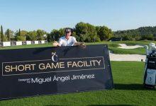 Miguel Ángel Jiménez inaugura las impresionantes instalaciones de Juego Corto en Las Colinas Golf