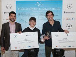 Gilberto Díaz de Bustamante y Manuel Loring, campeones del Desafío Fundación Seve Ballesteros