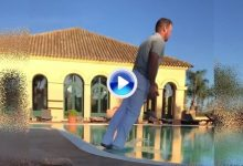 Baile y piscinazo para celebrar el mantener la tarjeta del Circuito para el próximo curso (VÍDEO)