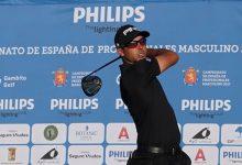 Sebastián García lidera el Campeonato de España de Profesionales con unos espectaculares 63 golpes