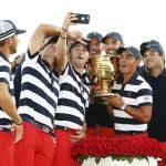 Selfie con el trofeo