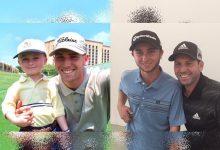 Sergio y Connelly compartieron partido y foto 18 años después de su primer encuentro en un torneo