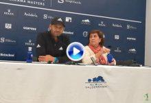 """Sergio llega al Valderrama Masters con la misión de repetir el título de 2011: """"Es un honor estar aquí"""""""