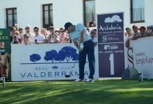Sergio amplia su idilio con Valderrama. El español es líder e intentará revalidar el título de 2011