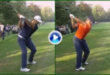 ¿Que swing le gusta más, el de Jon o el de Sergio? Vea, compare y disfrútelos a cámara lenta (VÍDEO)