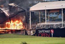 Napa, en alerta por un incendio solo unas horas después de dar por finalizado el Safeway Open