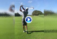 Tiger reaparece por las RRSS para mostrar sus progresos con los hierros. ¿Cómo le ven? (VÍDEO)