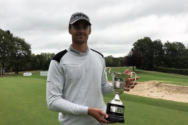 Víctor Pérez, campeón del Challenge de España en Izki Golf. Foto: @Challenge_Tour