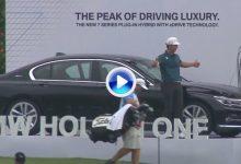 ¡¡Booommmm!! Un Hoyo en Uno que vale 100.000$. Kim se lleva a casa un lujoso BMW 740 (VÍDEO)