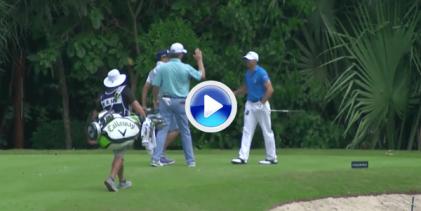 Byrd se aprovechó del agua de los greenes para lograr un nuevo Hoyo en Uno en el PGA (VÍDEO)